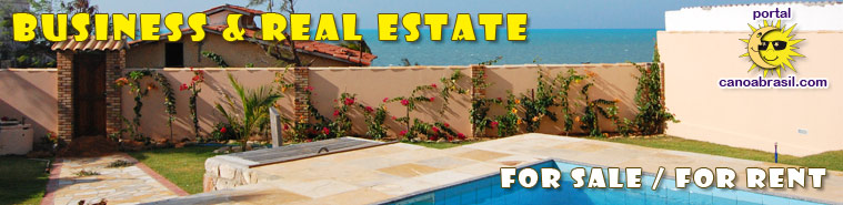 Business and real estate for sale or for rent in Canoa Quebrada, Aracati, Fortim and region