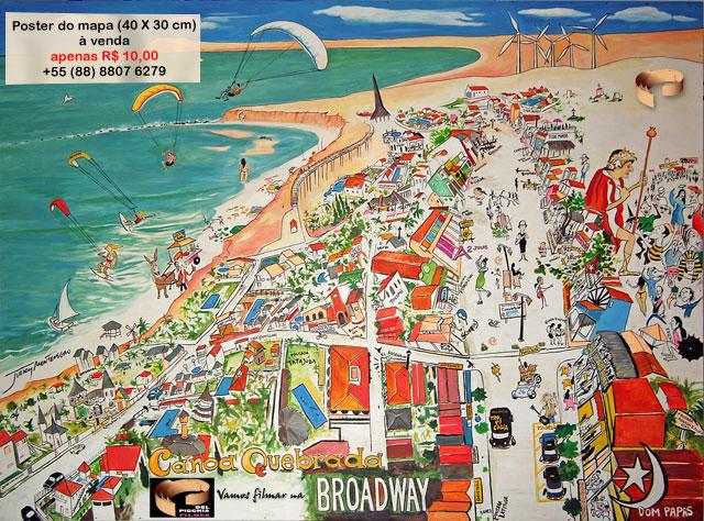 Canoa Quebrada Broadway Mapa de Canoa Quebrada 2006